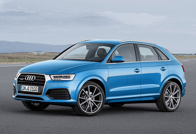 Audi Q3 現行版本。 圖/Audi提供