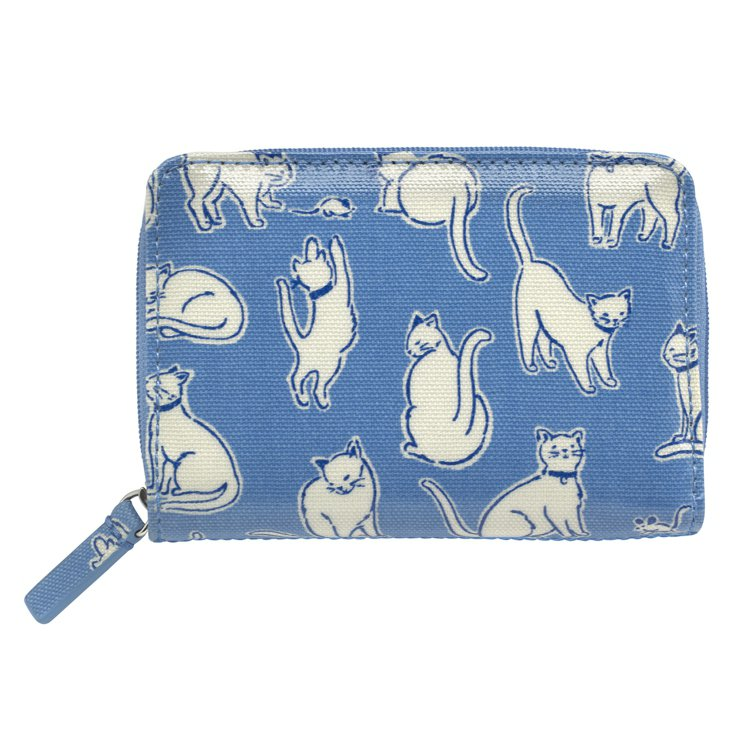 貓咪印花皮夾,1,480元。圖/Cath Kidston提供