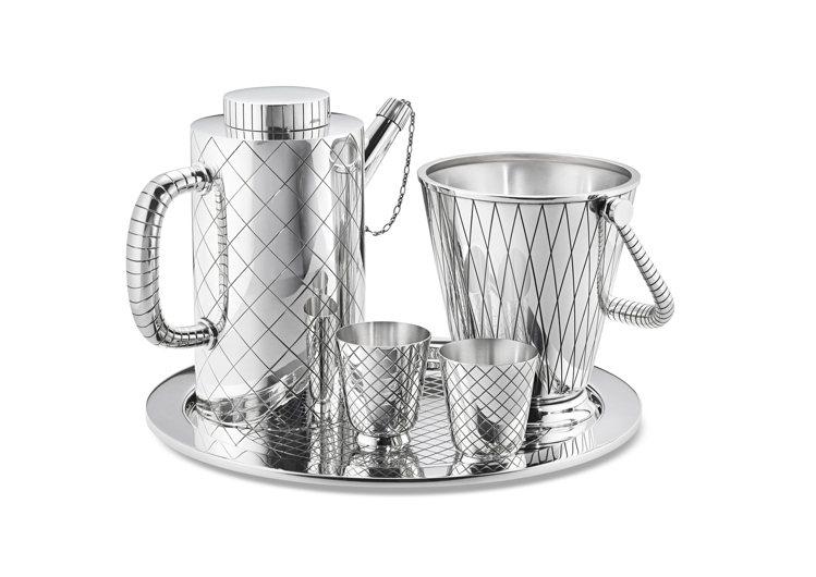 (去背圖或形象圖二擇一)1938年設計的BERNADOTTE銀雕酒器組,已停產超...
