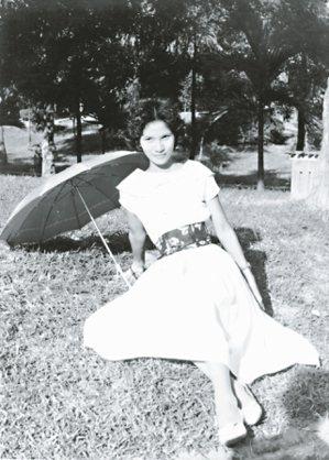 十八歲的劉靜娟。 ◎劉靜娟/圖片提供