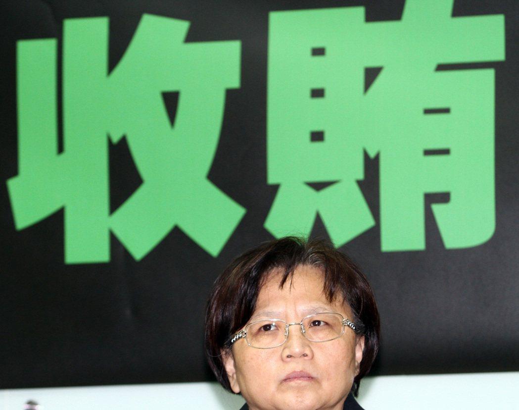 前交通部長郭瑤琪被控收賄,遭判8年定讞。 本報資料照片