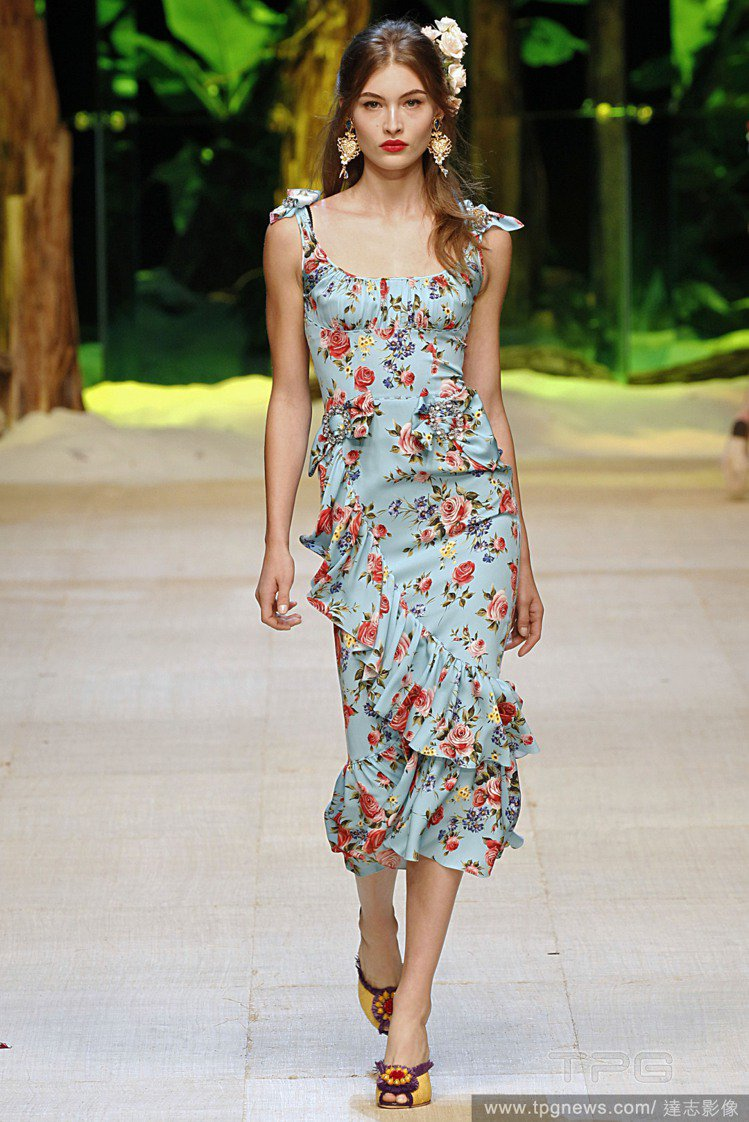 Dolce & Gabbana 2017春夏系列。圖/達志影像