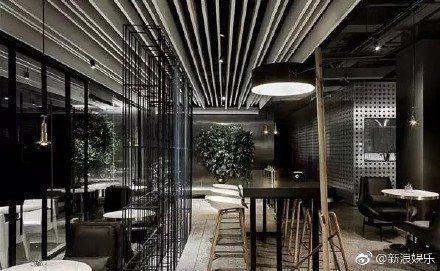 深圳「魔杰電競館」內部裝潢。
