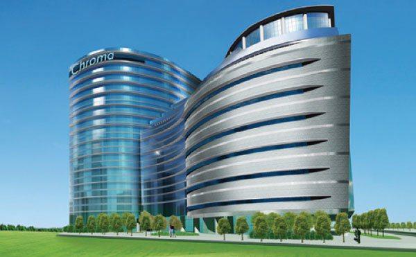 致茂電子桃園A7廠辦大樓示意圖。 致茂電子/提供