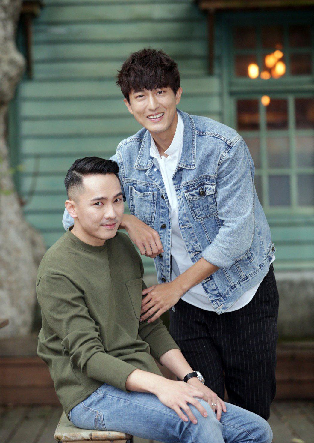 邱昊奇與劉雨凱簽下新經紀,演藝圈再出發。記者陳瑞源/攝影