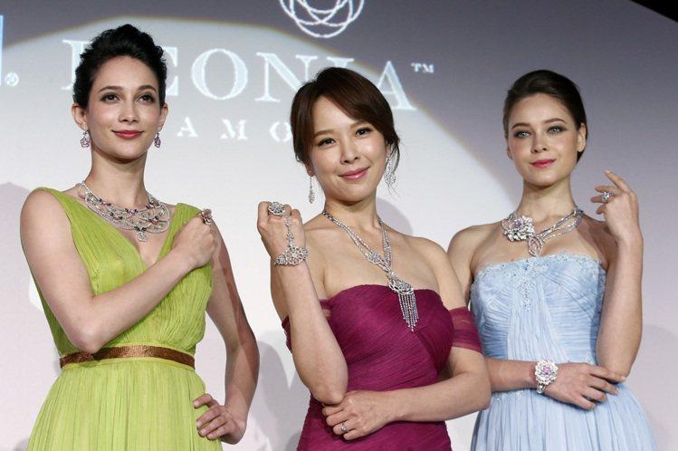 鎮金店just Diamond旗下的PEONIA DIAMOND彼愛麗鑽石發表「...