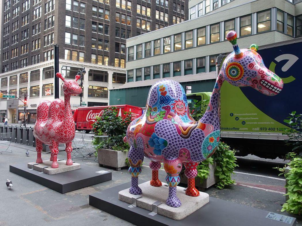 洪易作品「駱駝」將於華盛頓City Center DC展出。 圖/文化部提供