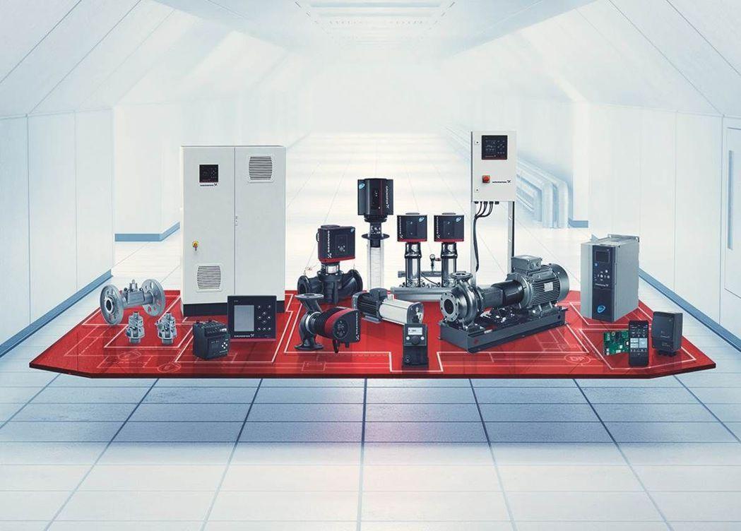 世界水工泵浦大廠葛蘭富(GRUNDFOS)擁有領先全球的處理技術。 圖/鈞能提供