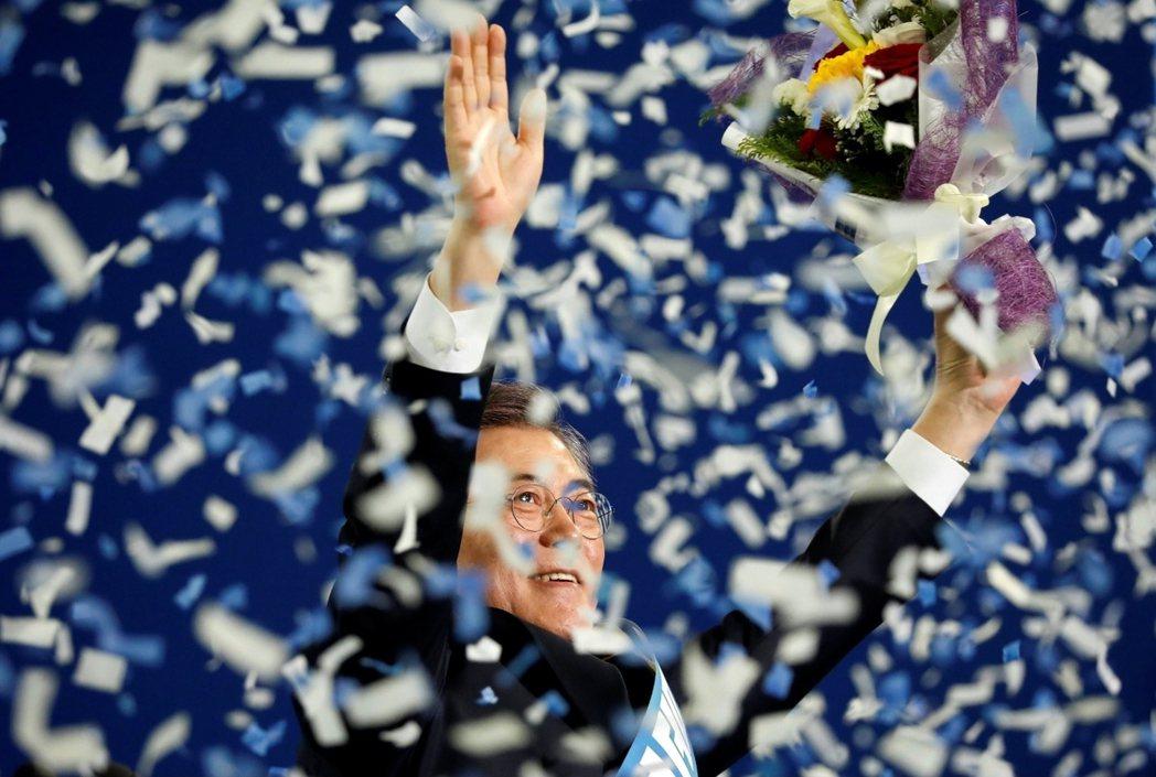 「選我選我!」之一:即將於5月9日舉行的南韓總統大選,現已倒數計時,各黨候選人都...