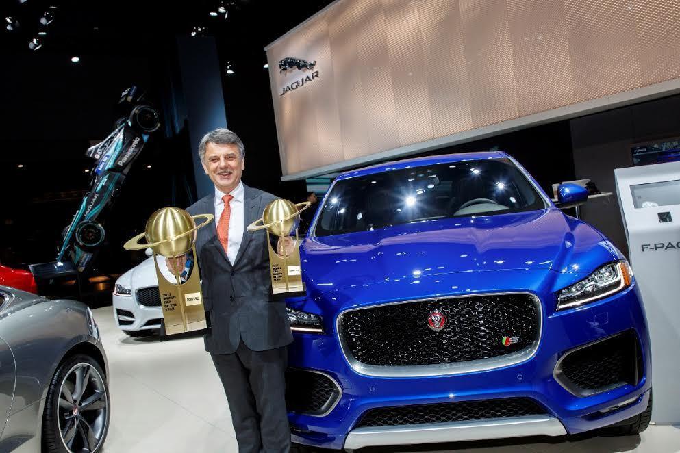 2017年度世界風雲車大獎(World Car Awards)由Jaguar旗下...