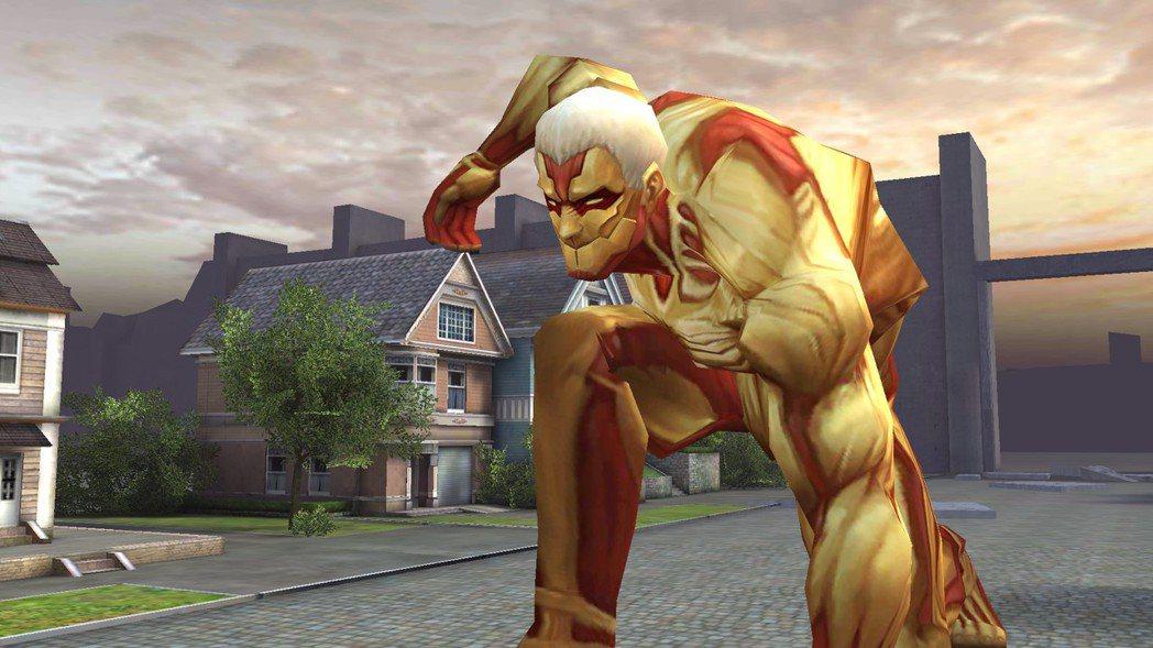 強大BOSS鎧之巨人帶來全新的威脅。