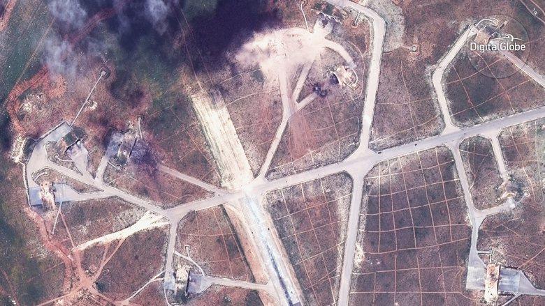 敘利亞內戰固然不屬於中國的核心利益或重大關切,刻意選在川習會進行期間發動攻擊,簡直不存在什麼「相互尊重」。 圖/美聯社