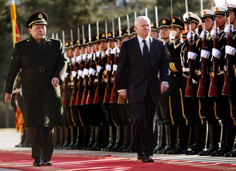 2012年,時任中國國務委員兼國防部長的梁光烈提出四項中美新型軍事關係的內涵,在習近平接班前夕,可看出四項內涵已經受到其強烈的影響。 圖/中新社