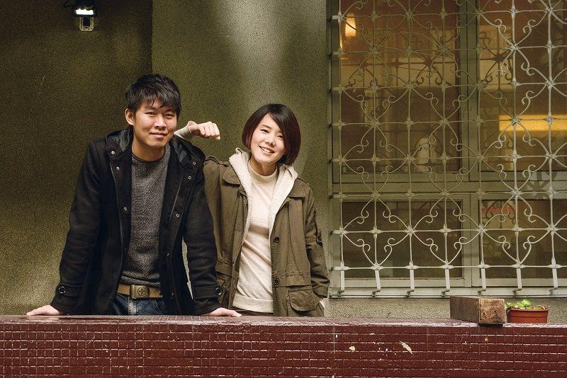 陳和榆(左)笑稱劉瑜萱(右)是他的警鐘,總在他偏離創作方向時,將他拉回軌道。 (...