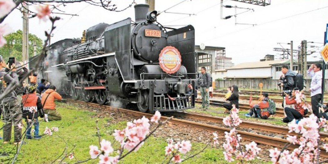 蒸汽火車本月20日要到宜蘭了。資料照片