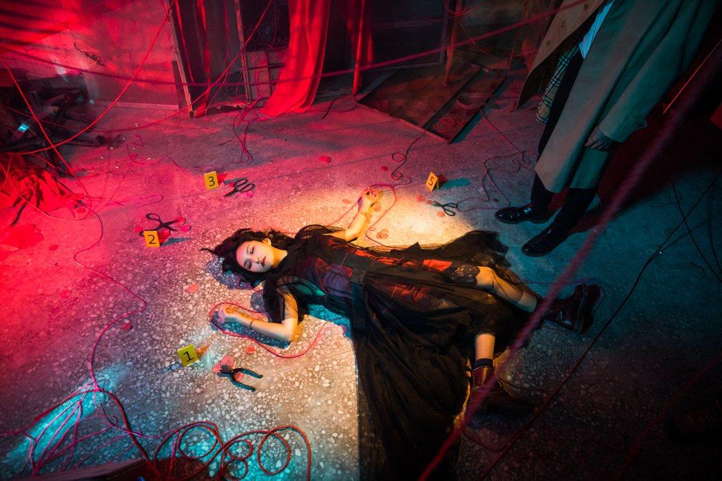 法蘭黛的新歌有偵探片的氣氛。圖/非常棒提供