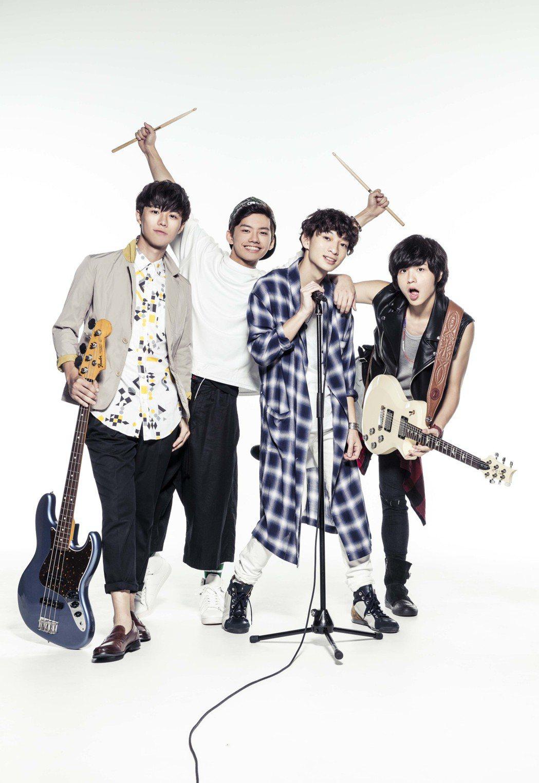 台灣男子樂團noovy將在日本辦小型演唱會。圖/伊林提供