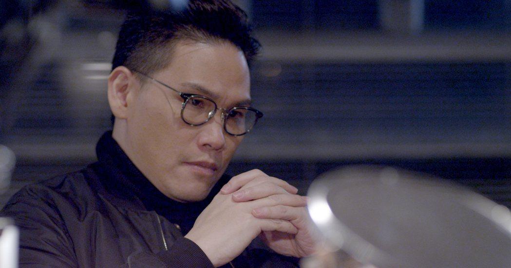 蘇永康於「隱世者們」演出化妝易容專家。圖/TVBS提供
