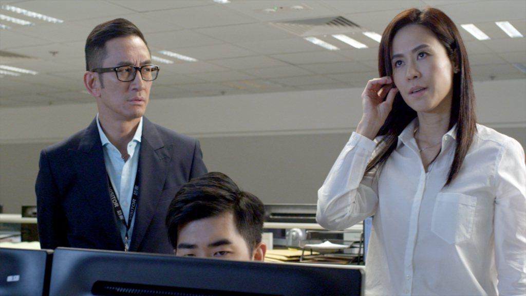 吳啟華、宣萱有精彩對手戲。圖/TVBS提供