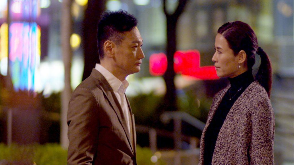 陶大宇(左)、宣萱相隔多年後再合作默契十足。圖/TVBS提供