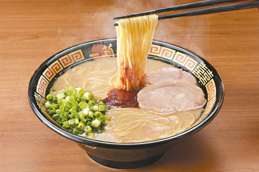 一蘭拉麵在朝日電視台舉辦的票選中奪冠。 圖/微風提供
