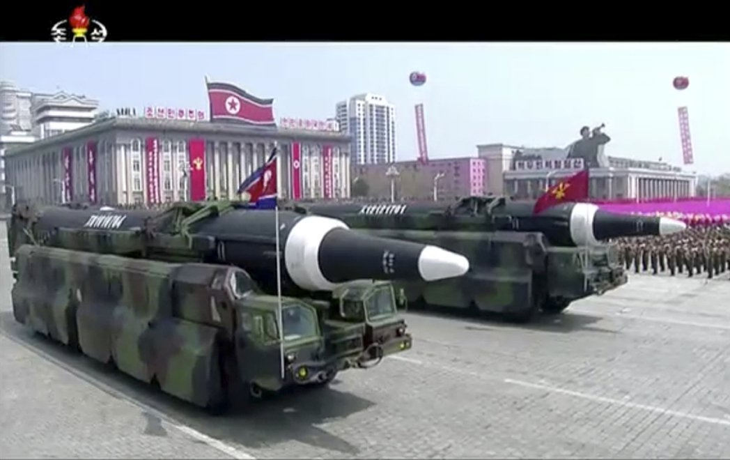 北韓第二號領袖:準備以核攻回應美國的核攻