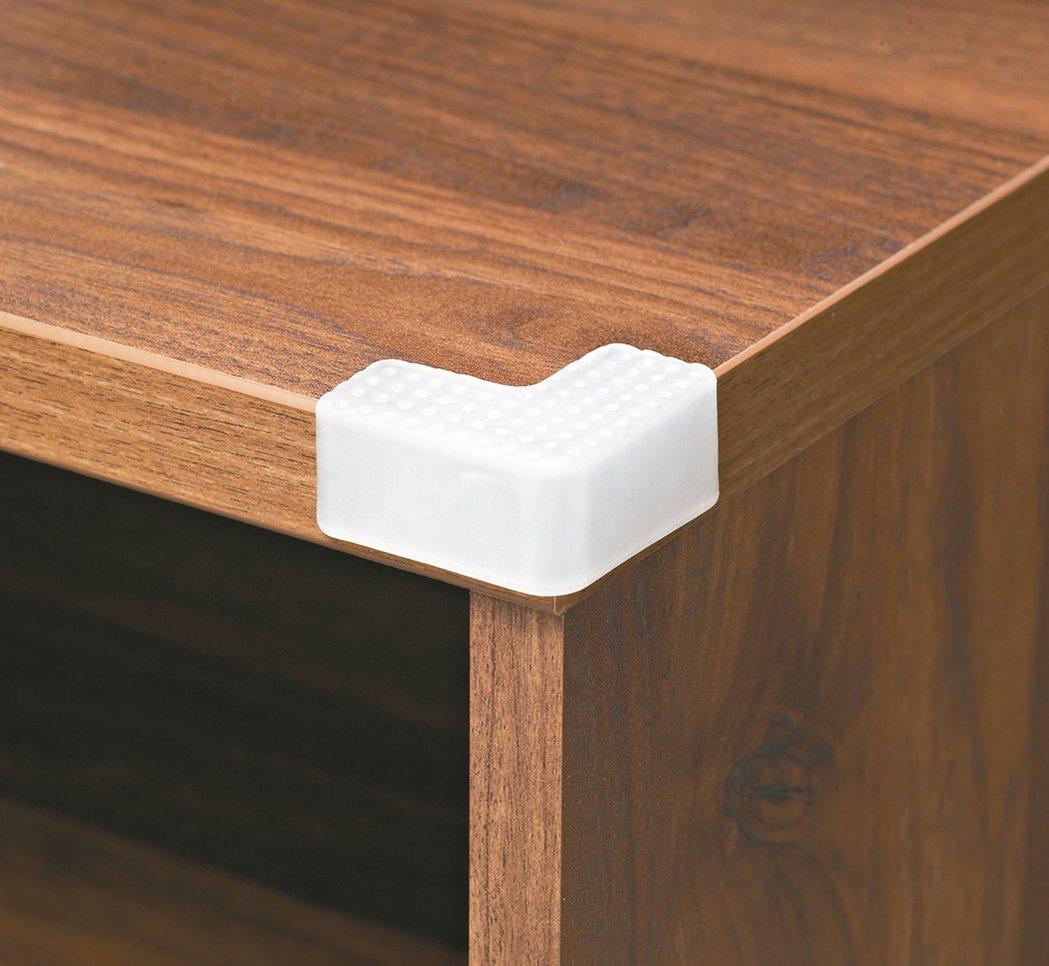 3M兒童安全防護桌角透明原價199元,特價169元。 特力屋/提供