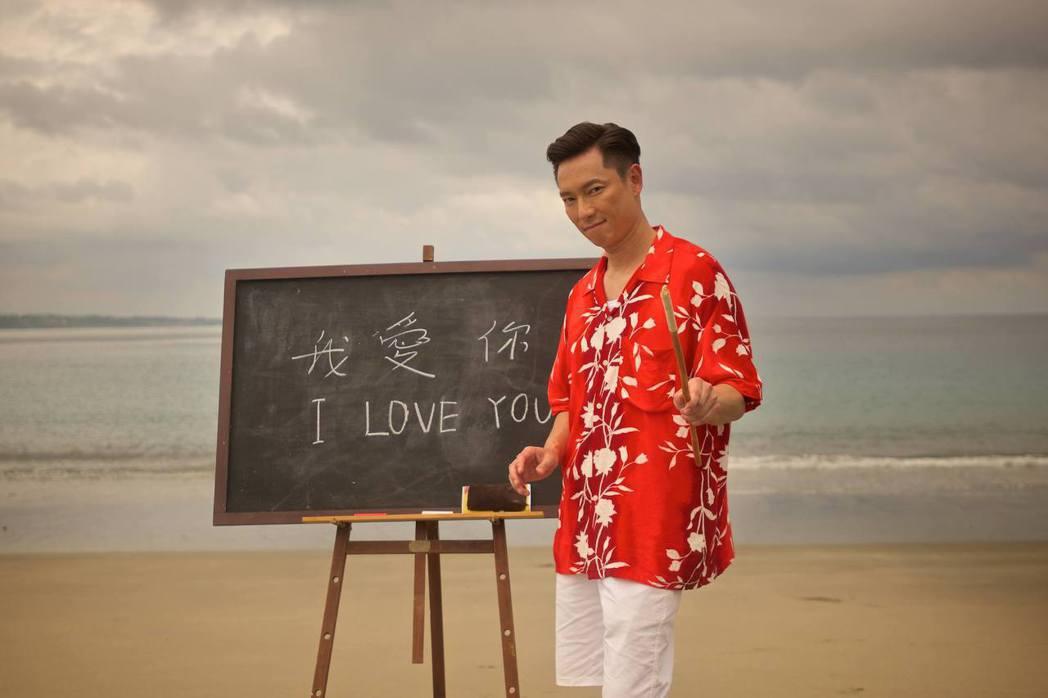 謝祖武在「閱讀時光II玫瑰玫瑰我愛你」戲中,演出一名有偏執狂的英文老師。圖/台視...