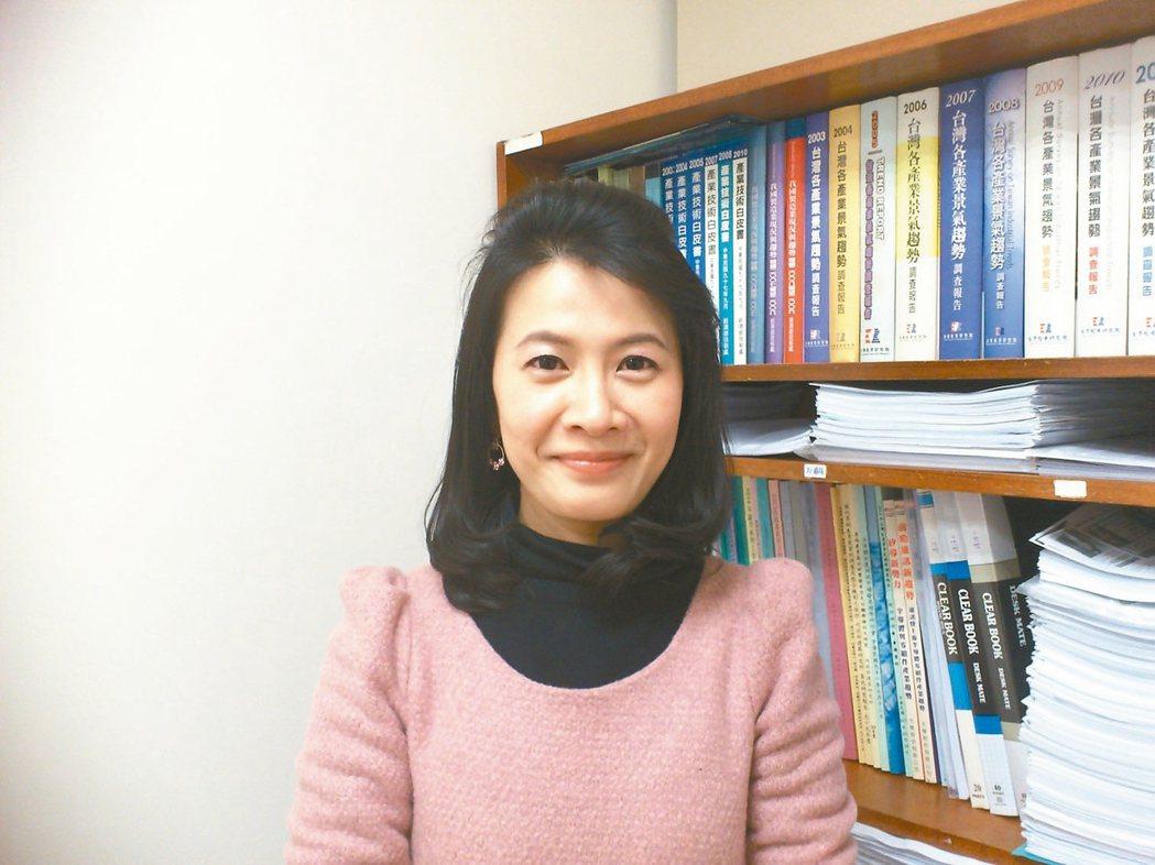 台經院副研究員暨產業顧問 劉佩真