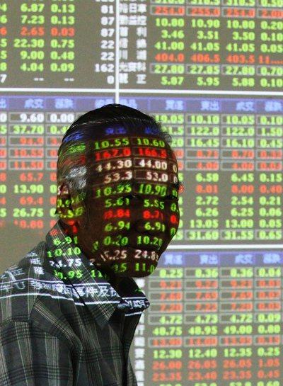 地緣政治不安,台股上周五摔落逾百點,盤勢波動幅度大。 本報資料照片