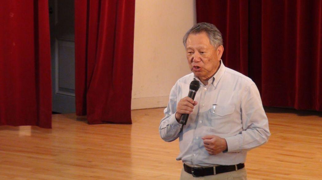 黨主席參選人詹啟賢在連署截止前一天,質疑有賄選綁樁傳聞。 圖/本報資料照片