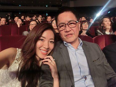 劉伊心昨天還稱林志隆為未婚夫,今天正式登記成為夫妻。圖/摘自劉伊心臉書