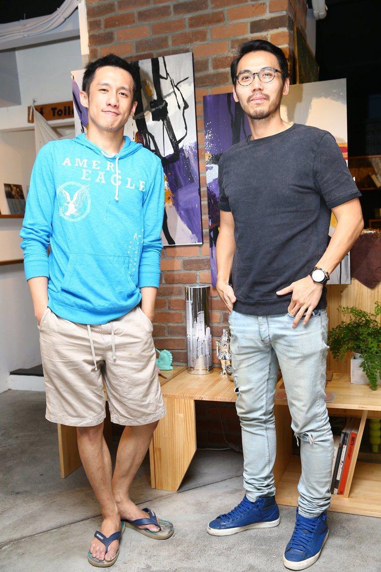 店長盧品學Eric(左)、郭文貴Runk(右)。圖/記者曾學仁攝影
