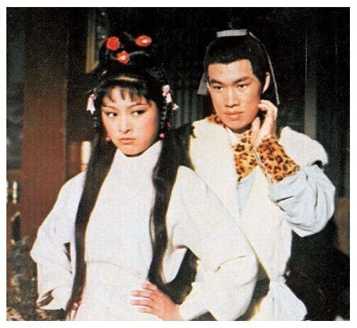 米雪與白彪飾演黃蓉和郭靖。圖/摘自24h
