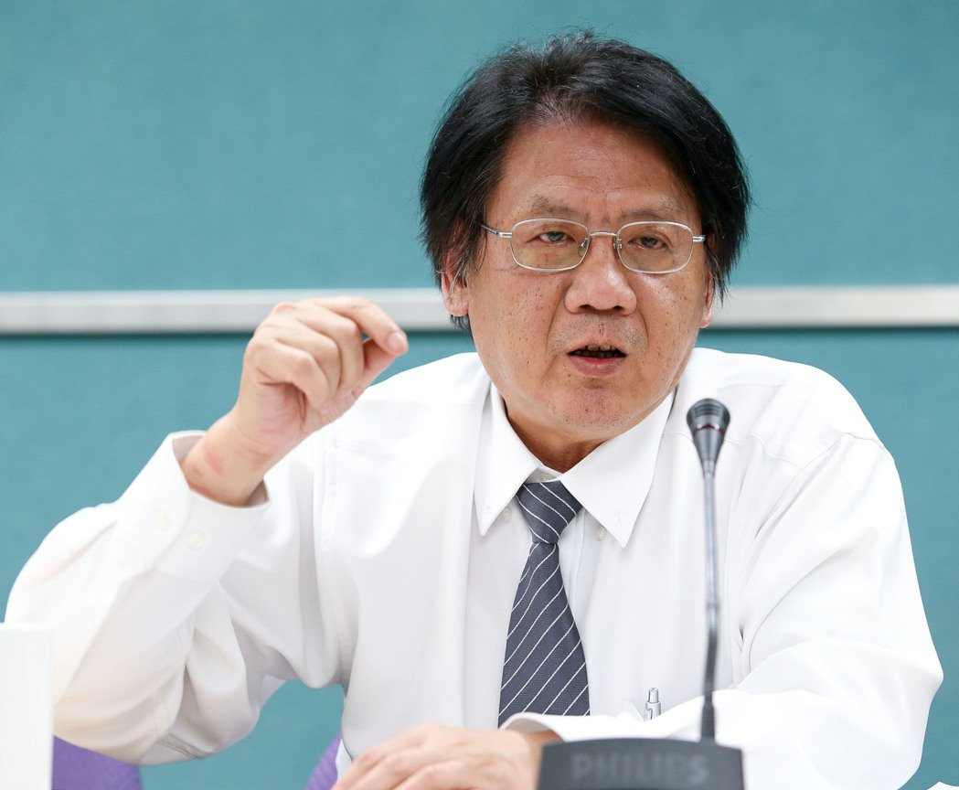 環保署空保處長蔡鴻德。記者程宜華/攝影