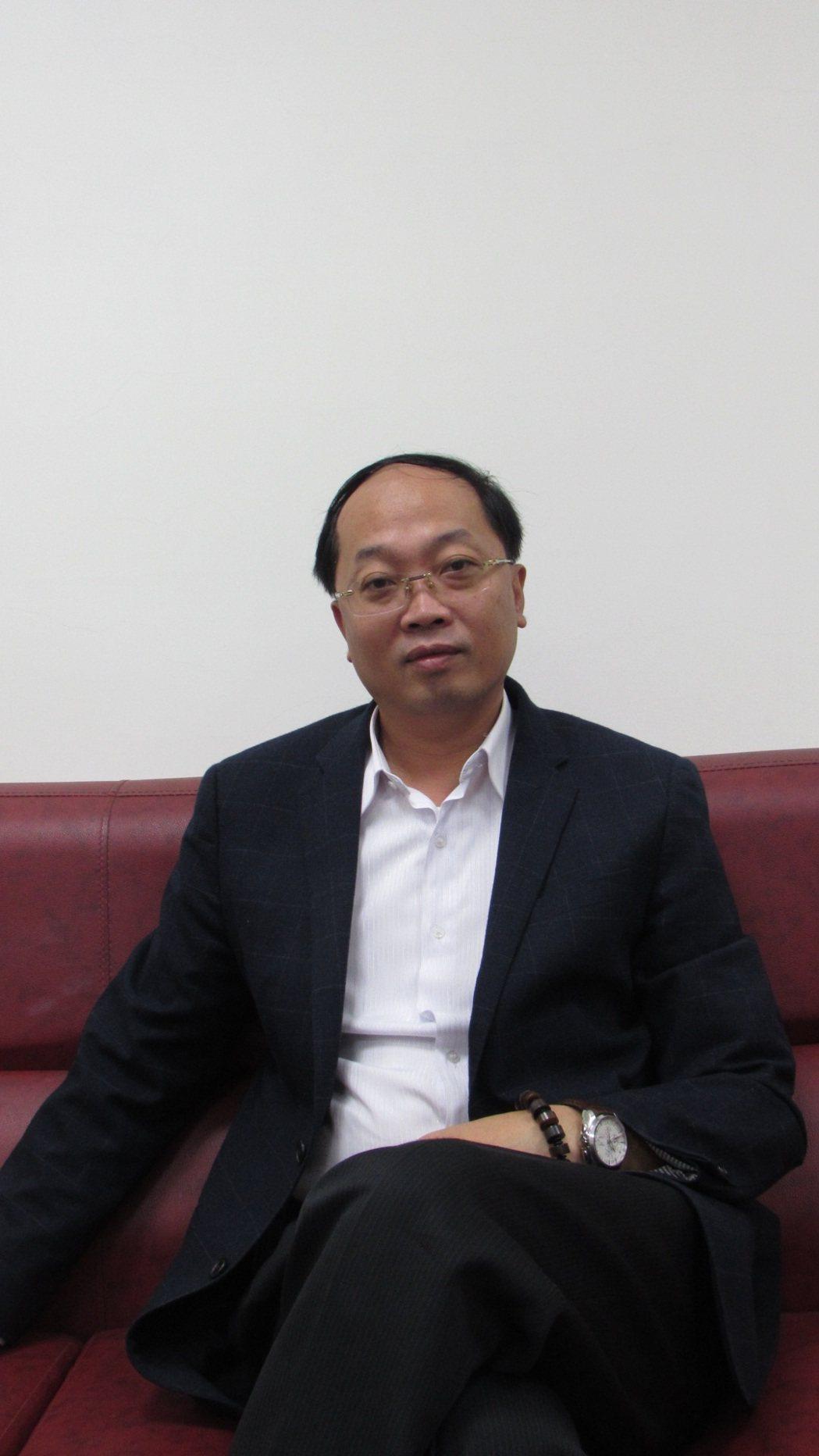 琉璃天董事長蕭智遠是青年創業標竿。 翁永全/攝影