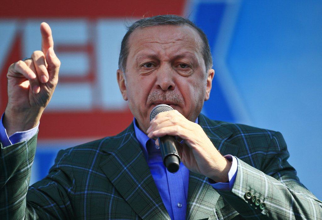 土耳其16日通過修憲公投,總統厄多安權力將擴張。美聯社