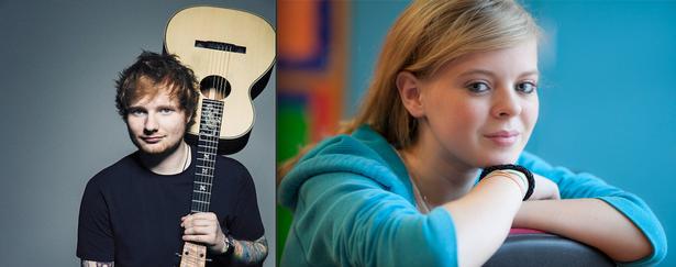 紅髮艾德(Ed Sheeran)為重病粉絲Triona獻唱。 圖/擷自irish...