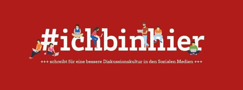 德國「#我在這」的logo。 圖/作者提供