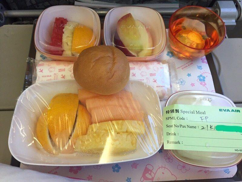 水果餐。圖/Dcard網友提供
