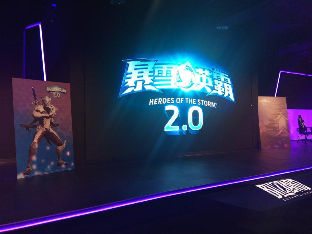 暴雪正式發布新英雄「源氏」與新戰場「花村」的消息。 攝影/余峯