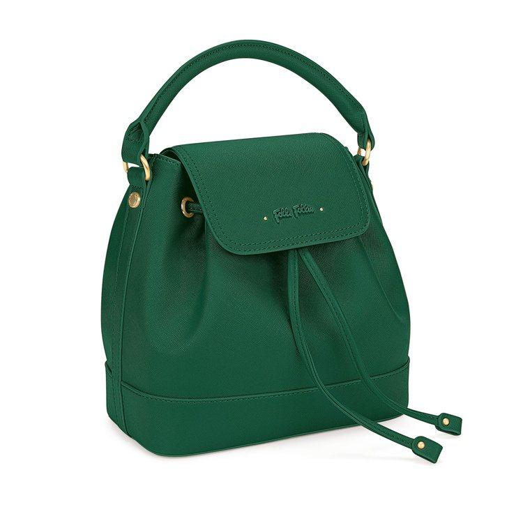 Uptown Beauty系列肩背包(綠),8,190元。圖/Folli Fol...