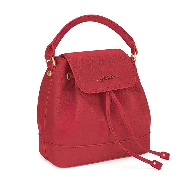 Uptown Beauty系列肩背包(紅),8,190元。圖/Folli Fol...