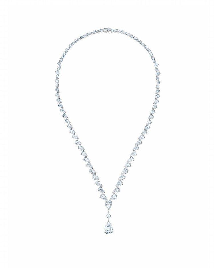 De Beers Drops of Light高級珠寶鑽石項鍊,1,420萬元。...