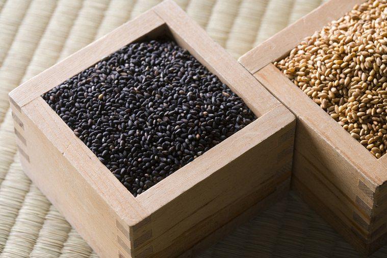 黑芝麻是補鐵好食材。 圖片/ingimage