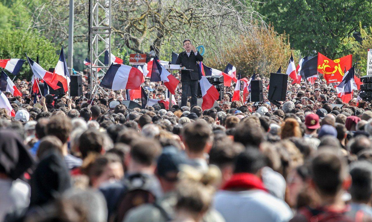 法國的失業率高達10.1%,遠超過歐元區水準。(歐新社)