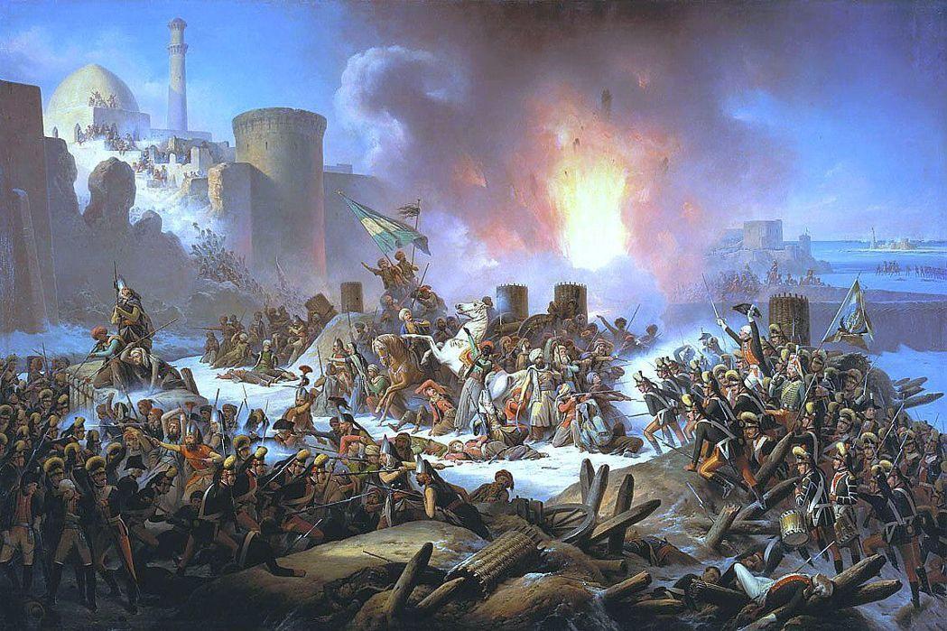 凱薩琳大帝急於取得南方不凍港,企圖透過重建彼得大帝的黑海艦隊,將土耳其遏止在南方...