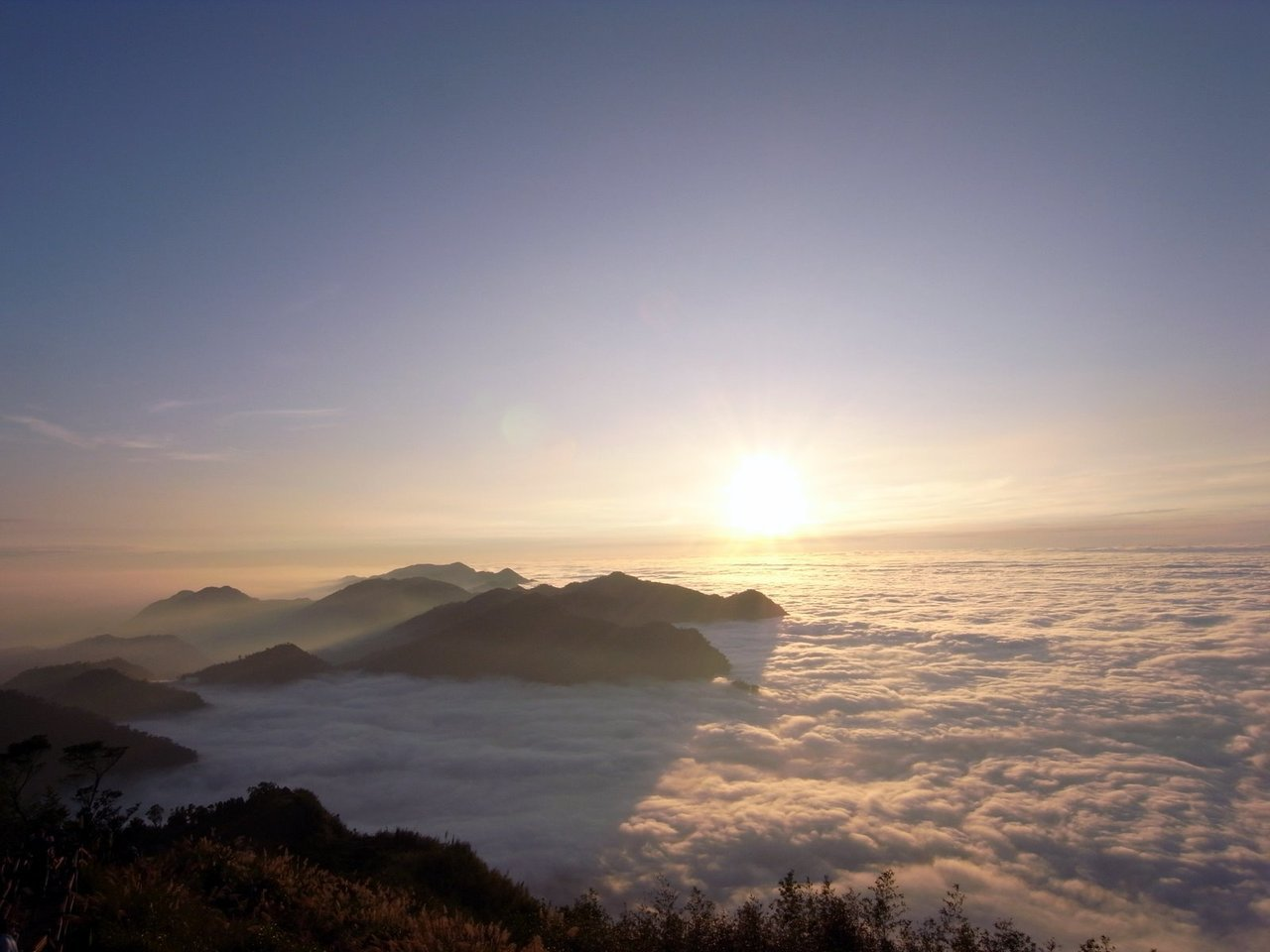 二延平步道絕美雲海。