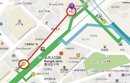 (source by 韓巢地圖)