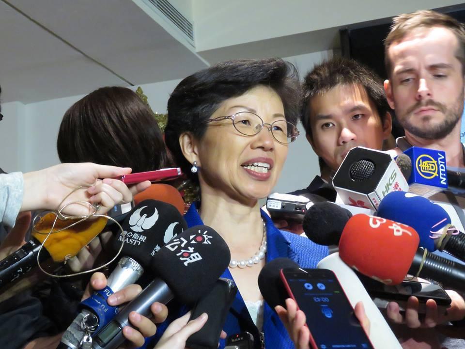 張小月受訪時表示,張向忠的確有提出請求政府庇護。記者李仲維/攝影